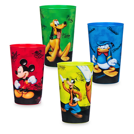 Disney Plastic Cups - Mickey And Friends - Lenticular ...