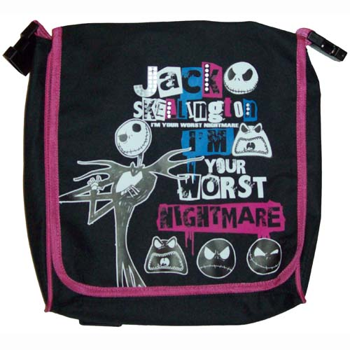 Disney Back Pack - Jack Skellington - I'm Your Worst Nightmare