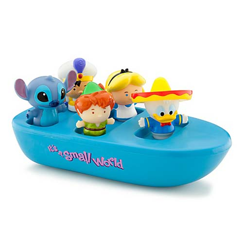 Your Wdw Store Disney Bath Toy Set It S A Small World