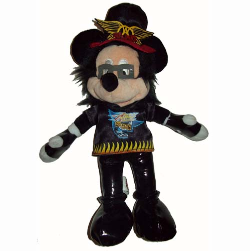 Disney Plush Mickey Mouse Rock N Roller Coaster