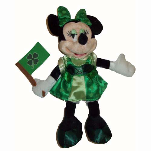 Disney plush st patrick 39 s dayday 2011 minnie mouse - Disney st patricks day images ...