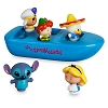 Disney Bath Toy Set - It's A Small World Bathtub Boat Set