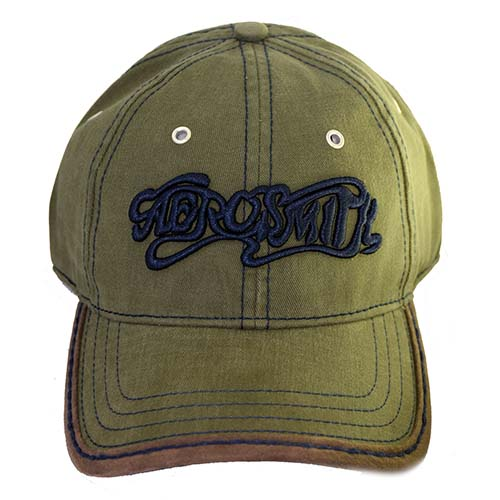 Disney Hat - Rock N Roller Coaster - Aerosmith - Green / Navy