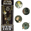 Disney Pin Starter Set - STAR WARS Darth Vader Luke Skywalker Han Solo