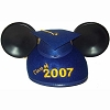 Disney Hat - Ears Hat - Graduation Class of 2007