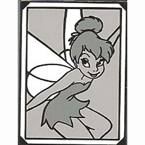 Disney Mystery Pin - 2011 - Black and White Photograph - Tinker Bell