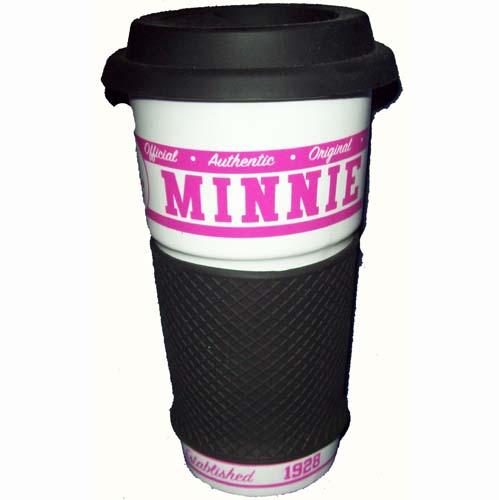 disney travel mug ceramic minnie mouse authentic