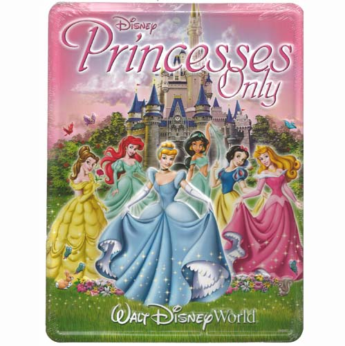 Disney Door Sign - Cinderella and Princesses - Princesses Only