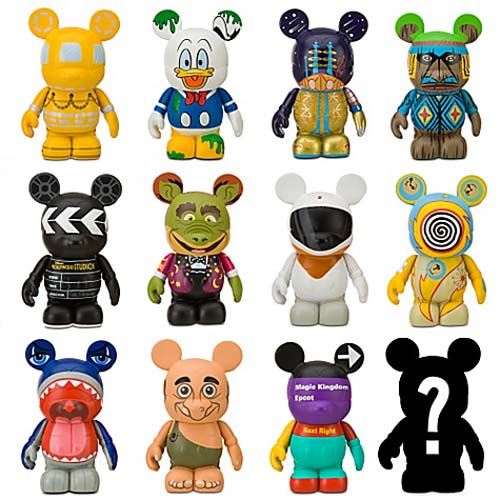 Disney Vinylmation Figure Set Park 6 Sealed Case