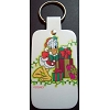 Disney Leather Keychain - Santa Donald Duck With Presents
