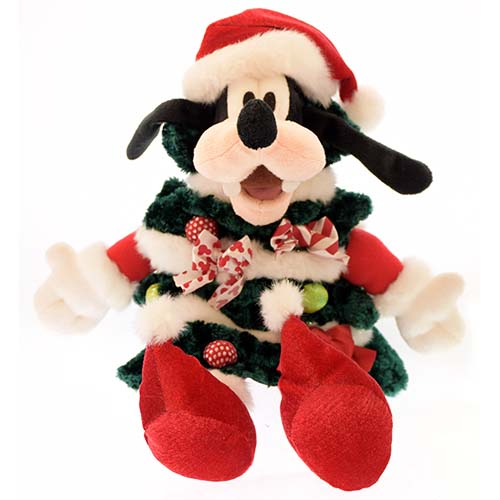 Disney Plush - Happy Holidays Christmas 2010 - Santa Goofy