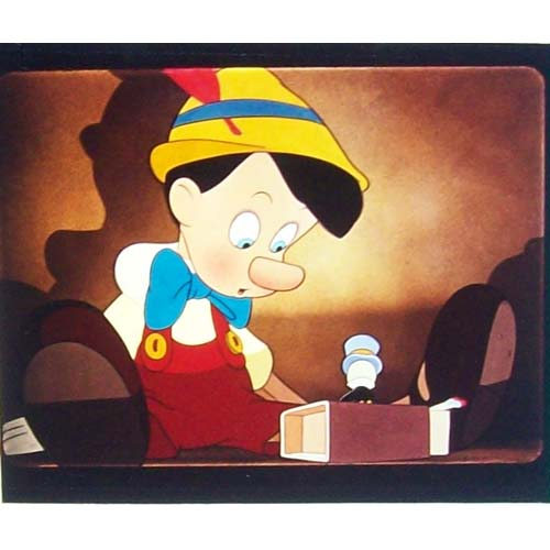 Disney Piece of Disney Movies Pin - Pinocchio -  Pinocchio and Jiminy