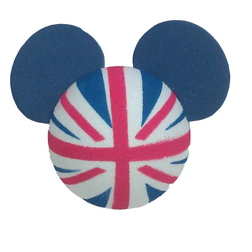 eddc65605fb88 Disney Antenna Topper - Mickey Mouse Ears UK England British Flag ...