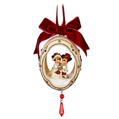 mickey and minnie christmas ornaments - Mickey And Minnie Christmas Decorations