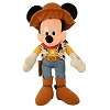 Disney Plush - Cowboy Sheriff Woody Mickey Mouse