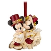 Disney Christmas Ornament - Victorian Minnie and Mickey Sweethearts