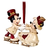 Disney Christmas Ornament - Victorian Minnie and Mickey Skating