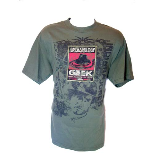 Disney Adult Shirt - Indiana Jones - Archaeology Geek