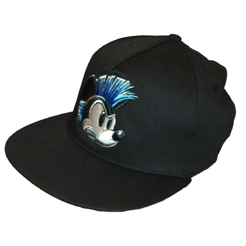 Disney Hat - Baseball Cap - Youth Flat Brim Mohawk Mickey