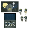 Disney Halloween Pin Set - Nightmare Before Christmas 4 Pin Boxed Set