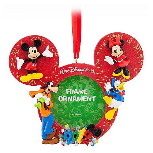 disney christmas frame ornament 2012 mickey and pals