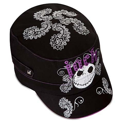 Disney LADIES Hat - Jack Skellington Military Cap