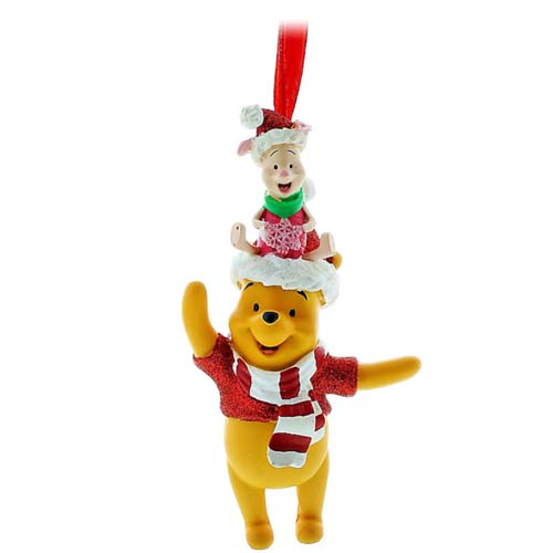 disney christmas ornament winnie the pooh and piglet - Winnie The Pooh Christmas Decorations