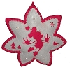 Disney Christmas Ornament - Minnie Snowflake