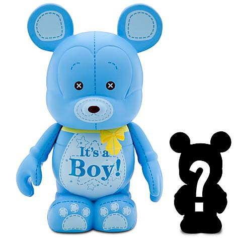 Disney vinylmation Figure - Celebrations - It's A Boy with Mystery Jr.