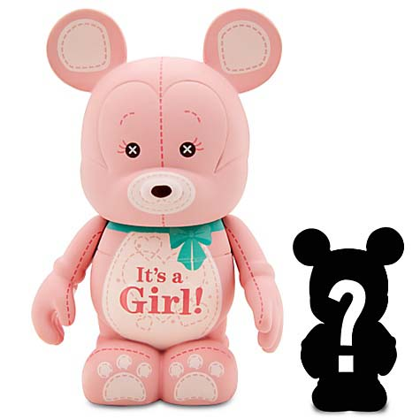 Disney vinylmation Figure - Celebrations - It's A Girl with Mystery Jr