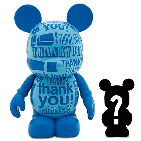 Disney vinylmation Figure - Celebrations - Thank You with Mystery Jr
