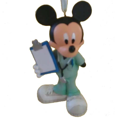 Disney Christmas Ornament - Mickey Mouse Doctor