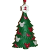Disney Christmas Ornament - Christmas Tree Red & White Collection