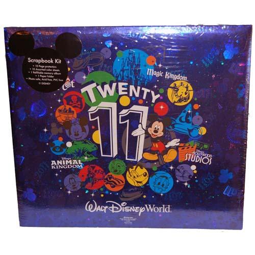 Disney Scrapbook Album 12 X 12 2011 Mickey And Friends