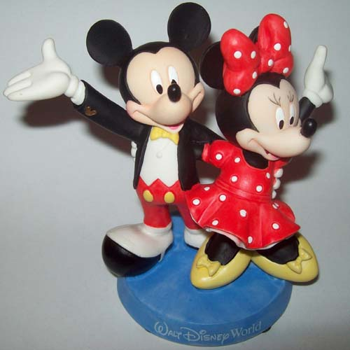 mickey and minnie mouse wedding cake toppers disney cake topper porcelain figure mickey minnie 17342