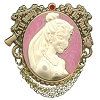 Disney Haunted Mansion Pin - The Bride - Cameo