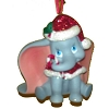 Disney Christmas Figurine Ornament - Santa Dumbo with Candy Cane