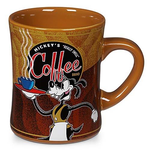 Mickeys Really Swell Coffee Brand Mug Goofy