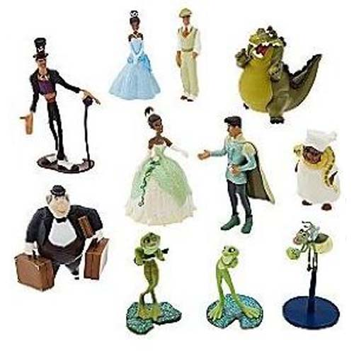 Disney Figurine Set Princess And The Frog Deluxe Playset