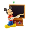 Disney Christmas Figurine Ornament - Teacher Mickey Mouse