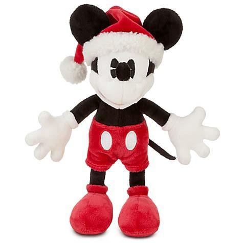 Disney Christmas Plush Classic Santa Mickey Mouse