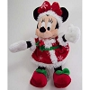 Disney Christmas Plush - Happy Holidays 2011 - Santa Minnie
