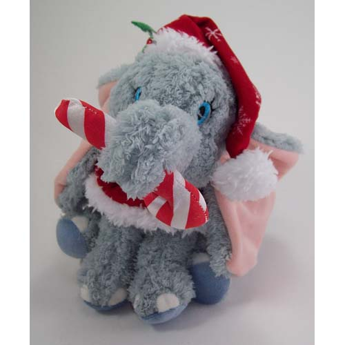 Disney Christmas Plush - Happy Holidays 2011 - Santa Dumbo