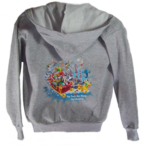 Disney Child Jacket - Joy from the World Christmas Hoodie