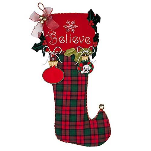 Your wdw store disney christmas stocking believe jumbo