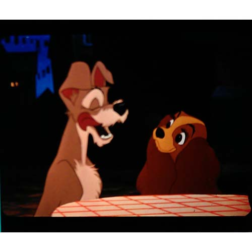 Disney Piece of Disney Movies Pin - Lady and the Tramp - Table
