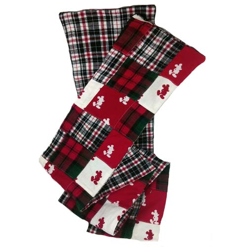 Christmas Scarf.Disney Scarf Christmas Patchwork Mickey Mouse