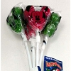 Disney Lollipops - Christmas Holiday Red and Green Mickey Mouse