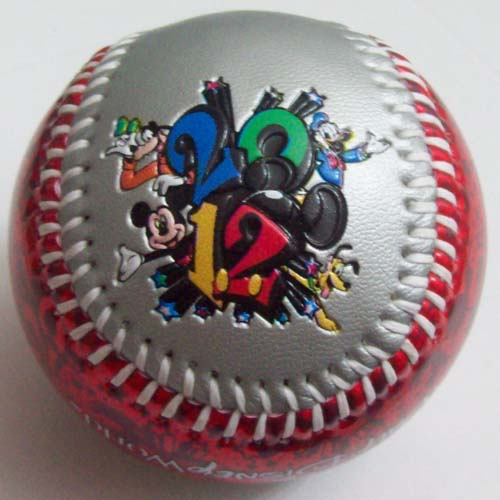 Disney Collectible Baseball - 2012 Official Logo Mickey Mouse Goofy