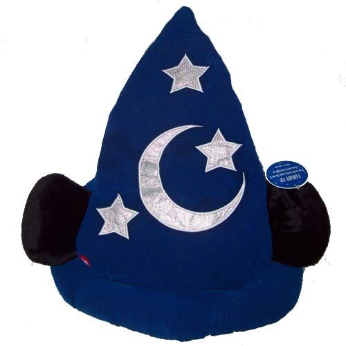 Disney Hat - Sorcerer Mickey Mouse Ear Hat - Light Up VELVET 04badfe43ae